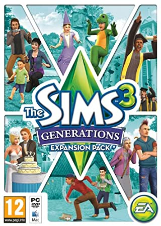 The Sims 3 - Generations Expansion Pack (PC/Mac DVD)