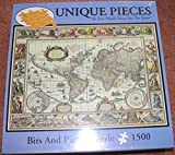 Bits and Pieces Old World Map 1500-Piece Jigsaw Puzzle With 1500 Unique Pieces No Two Pieces Are Alike! (Finished Size: 24