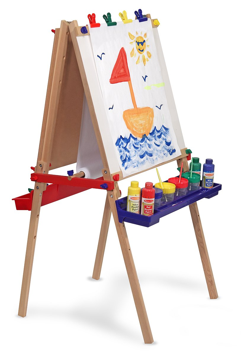 melissa and doug deluxe standing easel review. Black Bedroom Furniture Sets. Home Design Ideas