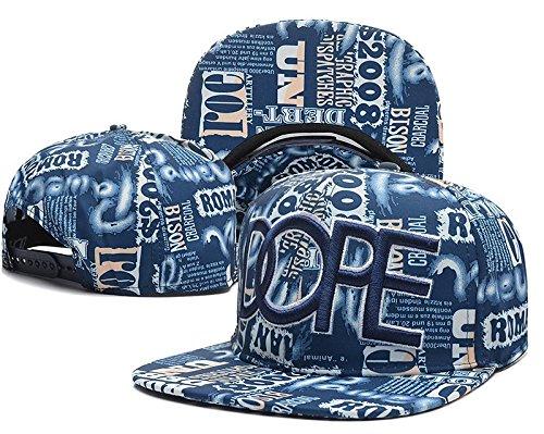Sandomocy-SD Unisex Adjustable Cool Baseball Hat KENZO Snapback Dual Colour Cap 11