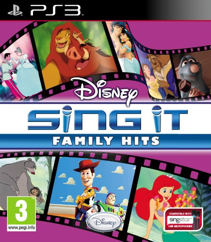 Disney Sing It: Family Hits (Playstation 3)