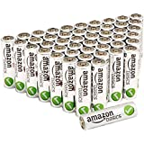 AmazonBasics AA Performance Alkaline Batteries [Pack of 48]
