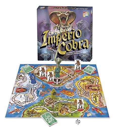 CEFA Toys - En busca del Imperio Cobra, juego de mesa, multicolor (21800)