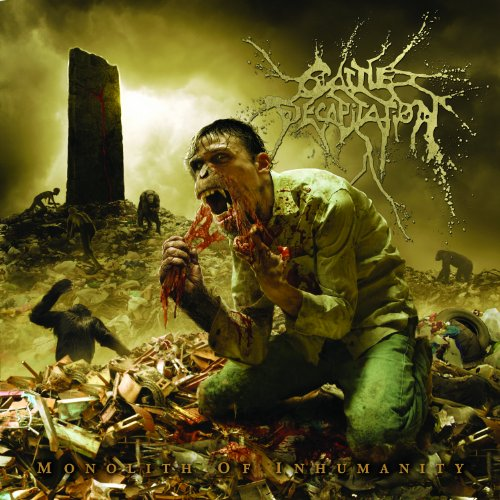 Original album cover of Monolith of Inhumanity by Cattle Decapitation