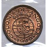 1949 AO JU0275 Angola 10 Centavos vintage DE PO-01