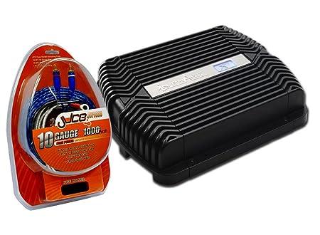In Phase IPX900 Amplificateur de puissance à deux canaux avec kit de câblage calibre8 900W