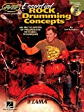 img - for Essential Rock Drumming Concepts - An Encyclopedia of Progressive Rhythmic Techniques: Musicians Institute Master Class book / textbook / text book