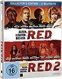 R.E.D. - �lter. H�rter. Besser/R.E.D. 2 - Noch �lter. H�rter. Besser - Steelbook [Blu-ray] [Collector's Edition]