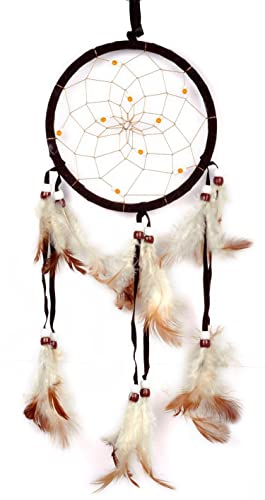 Imixlot Handmade Dreamcatcher Dream Catcher with Feathers Hanging Beads for your Car o