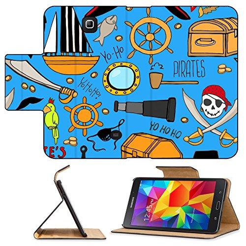 [Luxlady Premium Samsung Galaxy Tab 4 7.0 Inch Flip Pu Leather Wallet Case IMAGE ID: 35405713 Colorful bouquet of fabric craft flower] (Gumdrop Fairy Costume)
