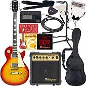 Maison エレキギター レスポールタイプ LP-28 初心者入門13点セット /チェリーSB(9707001601)