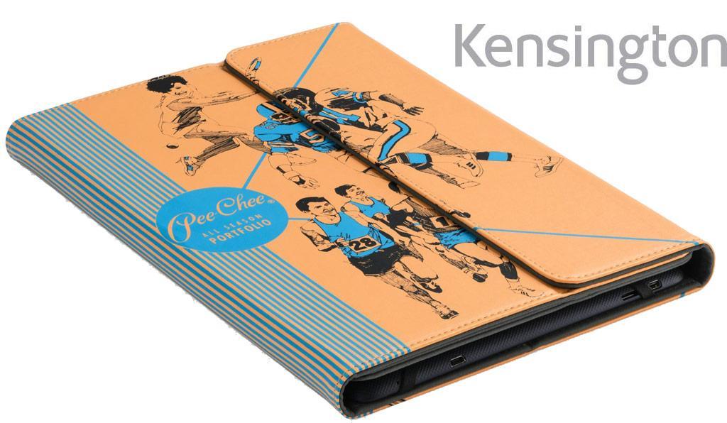 kensington pee chee tm folio case for samsung galaxy tab 4 tab