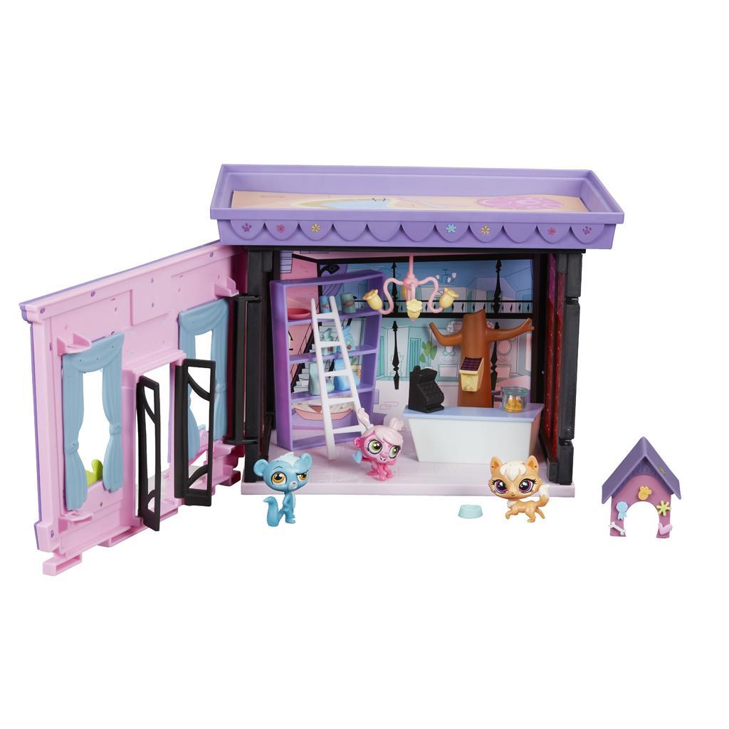 Littlest pet shop style set toys games for The little house shop
