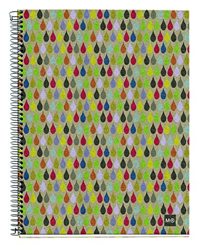 basicos-mr-2740-blocco-4-colori-a4-120-fogli-motivo-griglia-ecorain-in-carta-riciclata