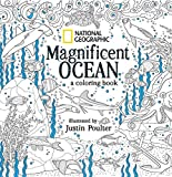 img - for National Geographic Magnificent Ocean: An Adult Coloring Book book / textbook / text book