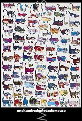 100-cats-and-a-mouse-poster-by-vittorio-fiorucci-2425-x-3575