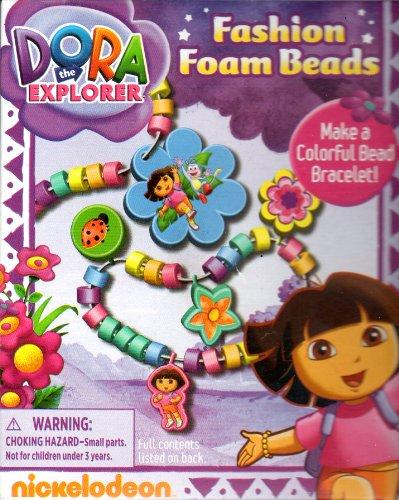 Dora the Explorer Fashion Foam Beads