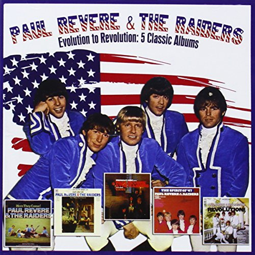 Paul Revere and The Raiders - Midnight Ride (Plus Bonus Trax - Zortam Music