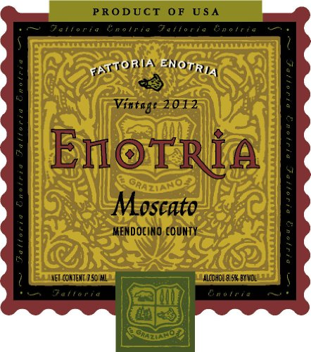 Enotria 2012 Graziano Family of Wines  Moscato 750 mL