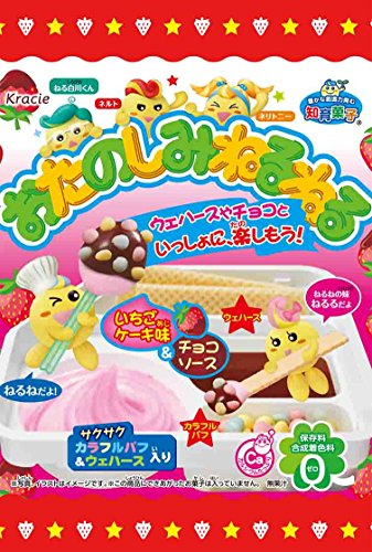 Otanoshimi Neru Neru Diy Candy - Strawberry Cake Flavor 22g