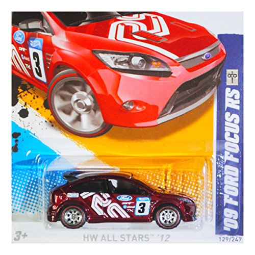 2012 Hot Wheels Super Treasure Hunt `09 Ford Focus RS 129/247 HW All Stars 09/10