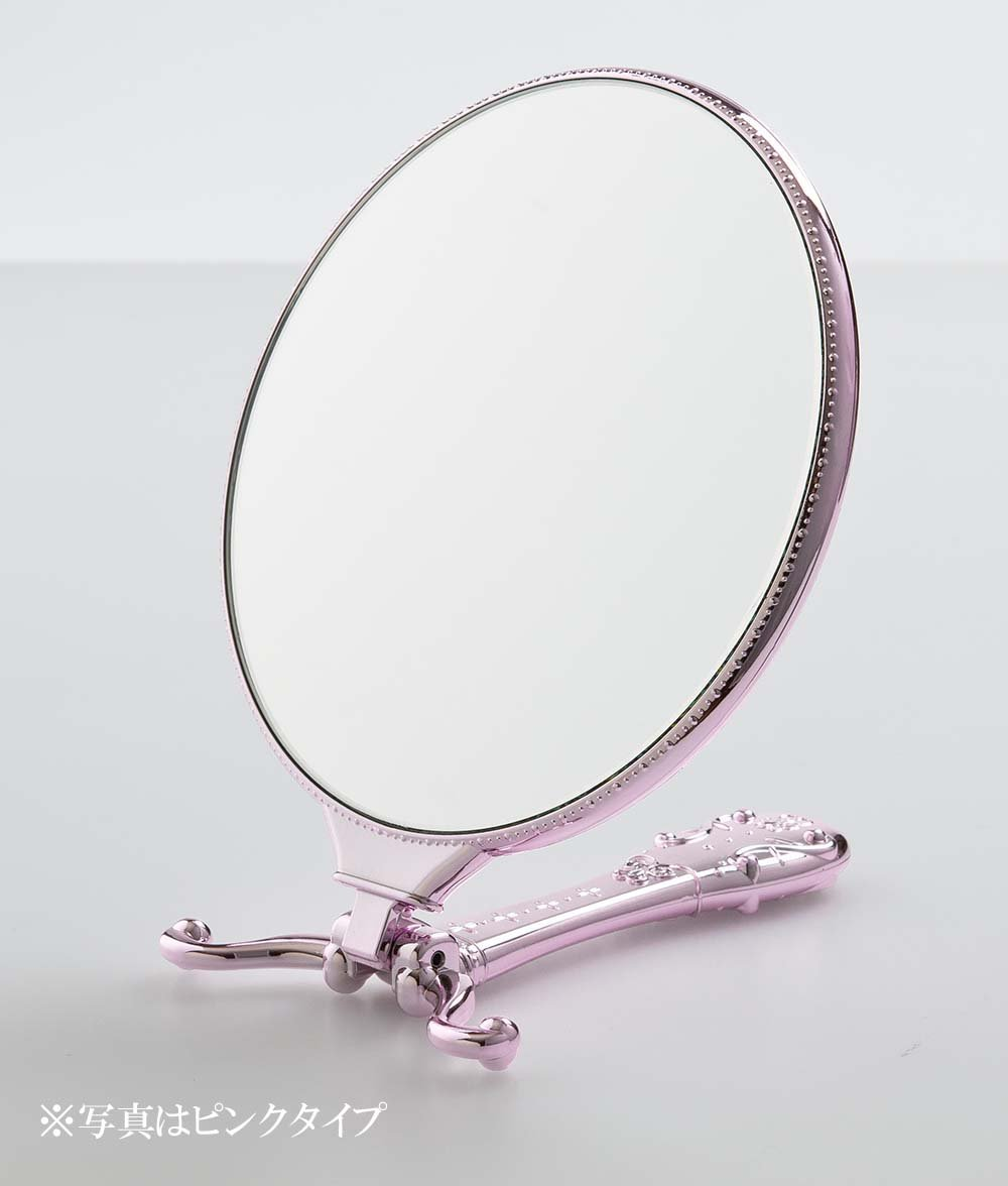 Twinkle Hand & Stand Mirror Y-1505 (Gold) 1