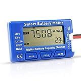 Digital RC Battery Capacity Tester, 5 in 1 Smart Battery Meter, Esc Tester Capacity Checker For 1-7S LiPo Life Li-ion NiMH Battery (Color: for 1-7S)