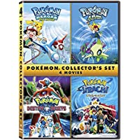 Pokemon Collectors 4-Film Set in DVD