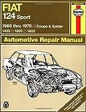 Adrian Sharp Fiat 124 Sport Owner's Workshop Manual (Haynes Manuals)