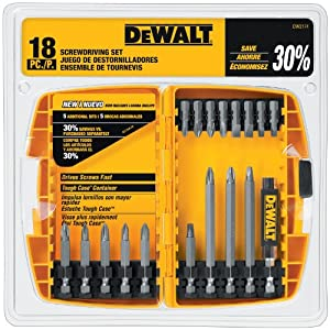 DEWALT DW2174 18-piece DEWALT Screwdriving Set