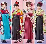 紅一点 卒業袴3点セット ジュニア袴 小学生卒業袴 (IJ-4)