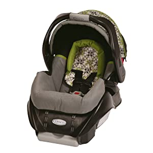 Graco SnugRide Classic Connect Infant Car Seat and Stroller Combo, Surrey