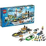 Lego City - 60014 - Jeu de Construction - La Patrouille des Garde - Côtes