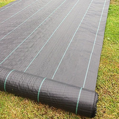 yuzet-09-001006-00-10-2m-x-10m-100g-weed-control-ground-cover-membrane-landscape-fabric-heavy-duty