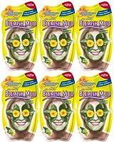 Montagne Jeunesse Blemish Mud 20 g Face Masque Sachets - Pack of 6