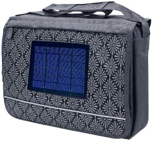 Bresser 3810101 Sac pour ordinateur portable avec le chargeur solaire pour téléphones portables