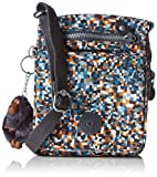 Kipling Eldorado Shoulder Bag (Pixel Check Print)