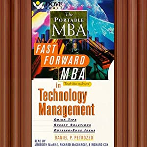 The Fast Forward MBA in Technology Audiobook