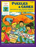 Gifted and Talented Puzzles and Games for Critical and Creative Thinking, Ages 6-8 (The Gifted & Talented Workbooks)