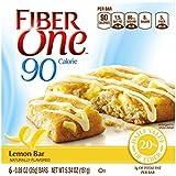 Fiber One 90 Calorie Bar, Lemon, 5.34 Ounce