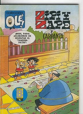 Coleccion Ole numero 190-Z.40: Zipi y Zape y Carpanta