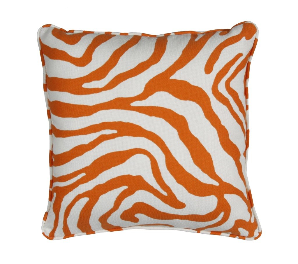 Orange Tangerine Throws and Throw Pillows
