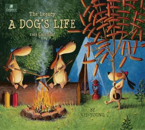 Image of Legacy 2013 Wall Calendar, A Dog's Life by Ned Young (WCA8965) (B0089K3744)