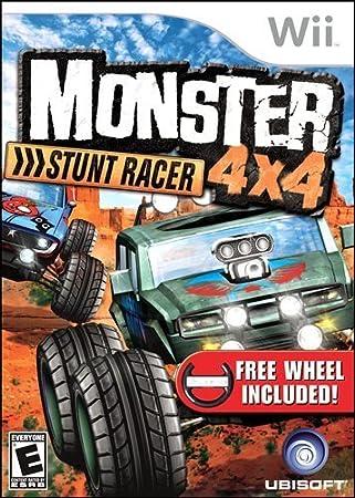 Monster 4x4 Stunt Racer with Wheel