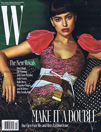 W Magazine October 2016 大きい表紙画像