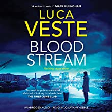 Bloodstream Audiobook by Luca Veste Narrated by Jonathan Keeble
