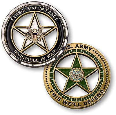 Army Star Challenge Coin