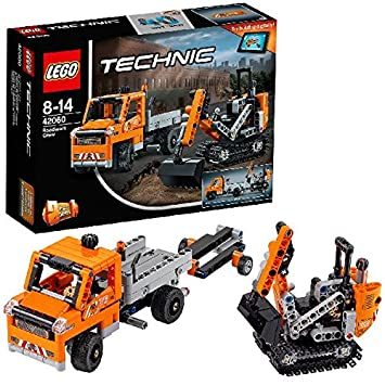 LEGO - 42060 - Technic -  Jeu de construction - L'équipe de Réparation Routière