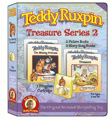 Treasure Series 2- Includes two Adventures, Animation Cartridge and four books - 1