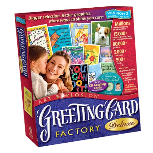 Greeting Card Factory Deluxe 3 0B0000C7GEP